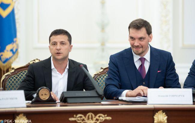 Зеленский не принял отставку Гончарука. Новости Украины