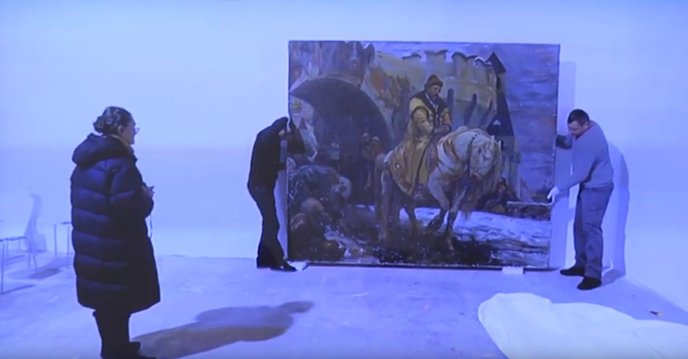 В художественный музей вернут похищенную во время войны картину. Новости Днепра