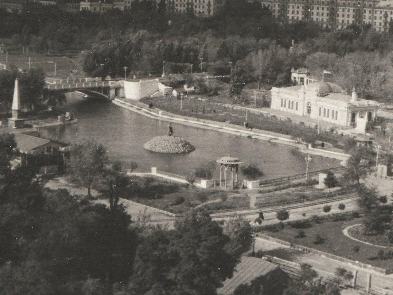 Стало известно, как менялась форма озера в парке Глобы в Днепре. Новости Днепра