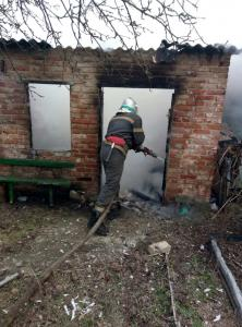 Мужчина погиб на пожаре. Новости Днепра