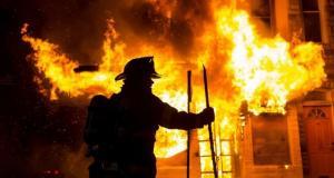 Мужчина чуть не сгорел в собственной квартире. Новости Днепра