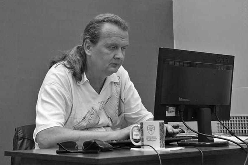 В Днепре умер журналист Сергей Воробей. Новости Днепра