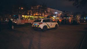Женщина умерла на остановке. Новости Днепра