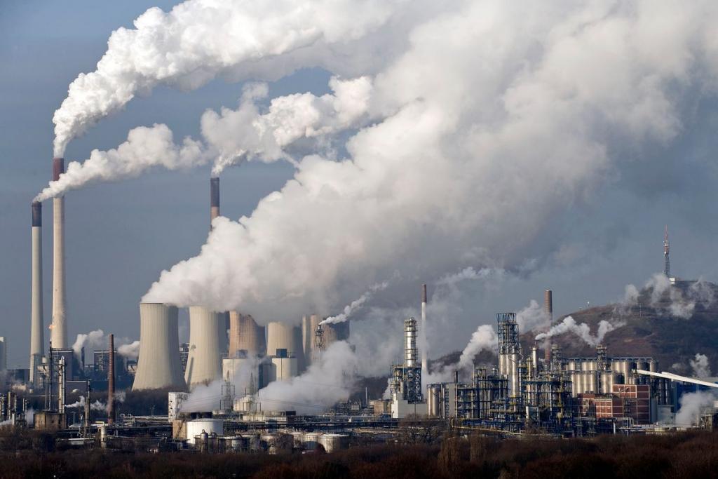 В области создадут офис контроля выбросов в атмосферу. Новости Днепра