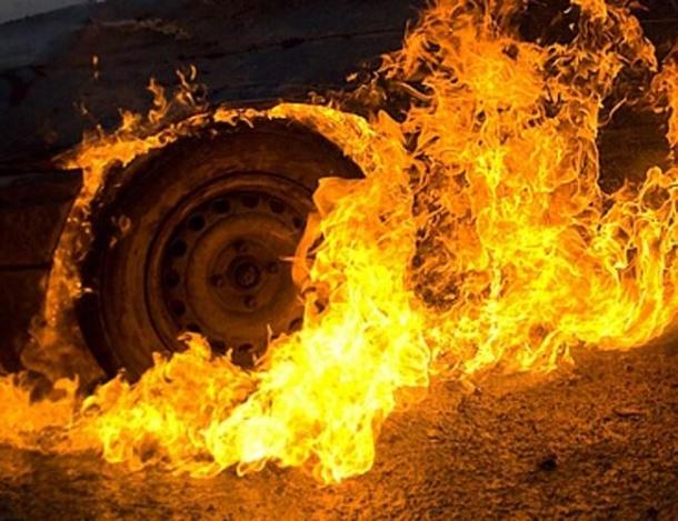 В Днепре загорелась маршрутка с пассажирами. Новости Днепра