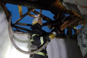 Под Днепром горел магазин. Новости Днепра