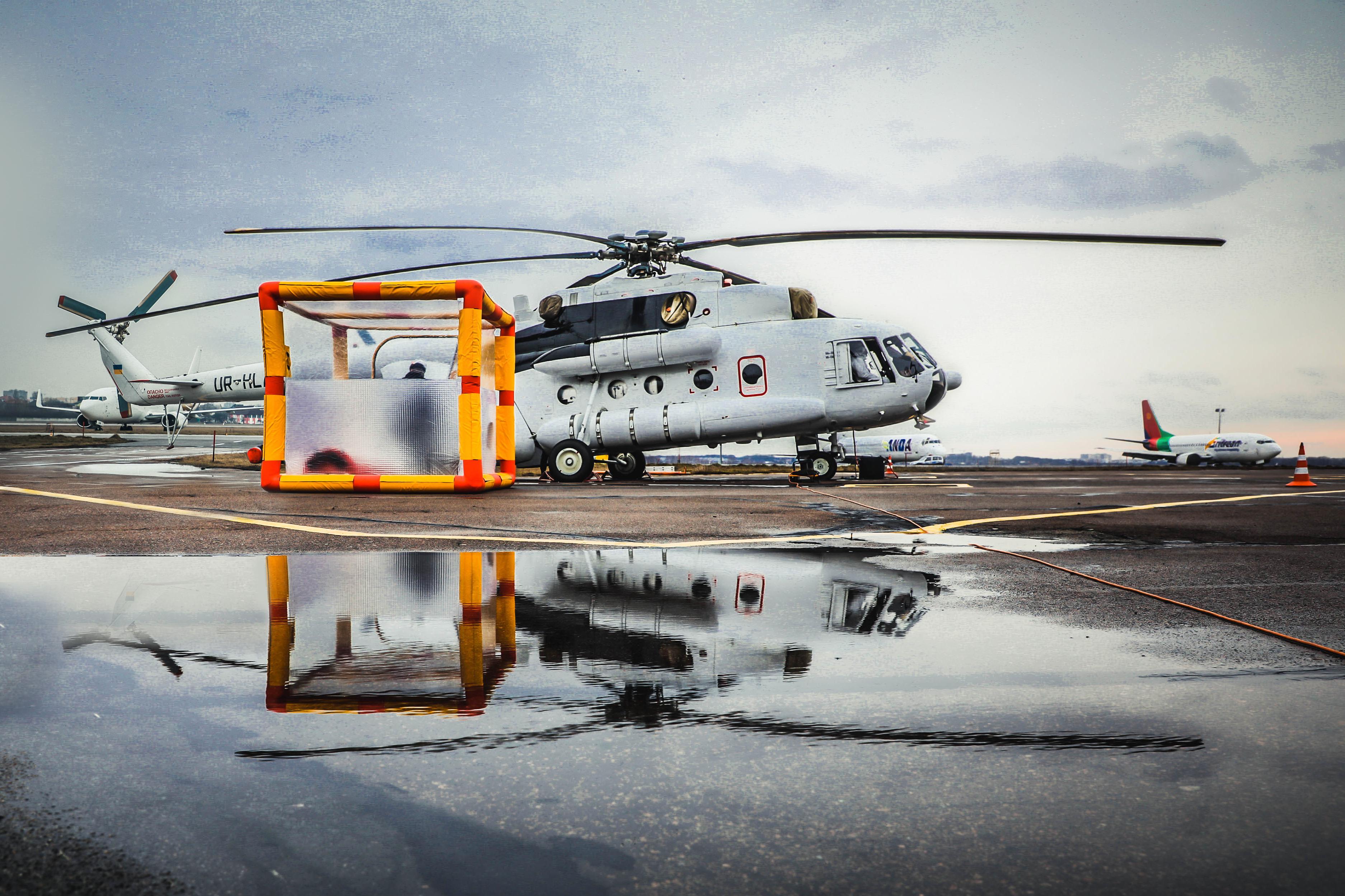 В Украине перевозить людей с подозрением на коронавирус будет специальный вертолет. Новости Днепра