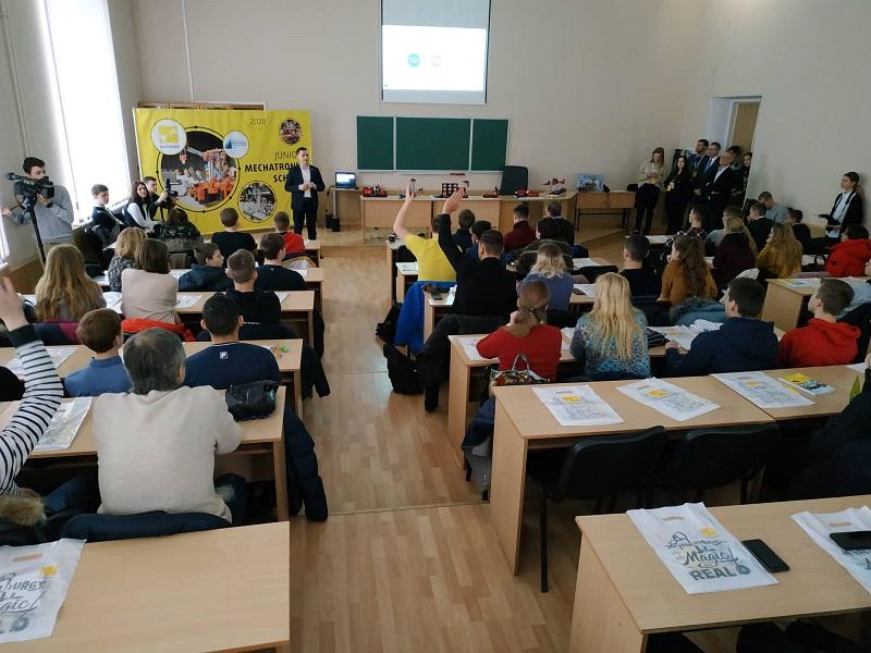 Новости Днепра про Стартовал третий сезон Interpipe Mechatronic Lab