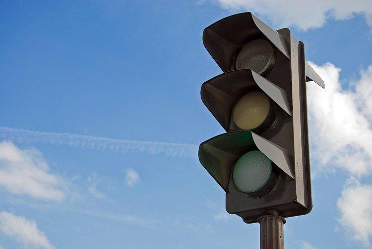 В Днепре не работают 2 светофора. Новости Днепра