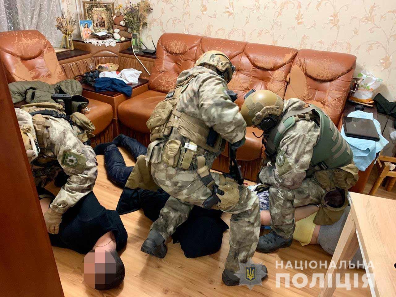 В Днепре задержали преступную группировку. Новости Днепра