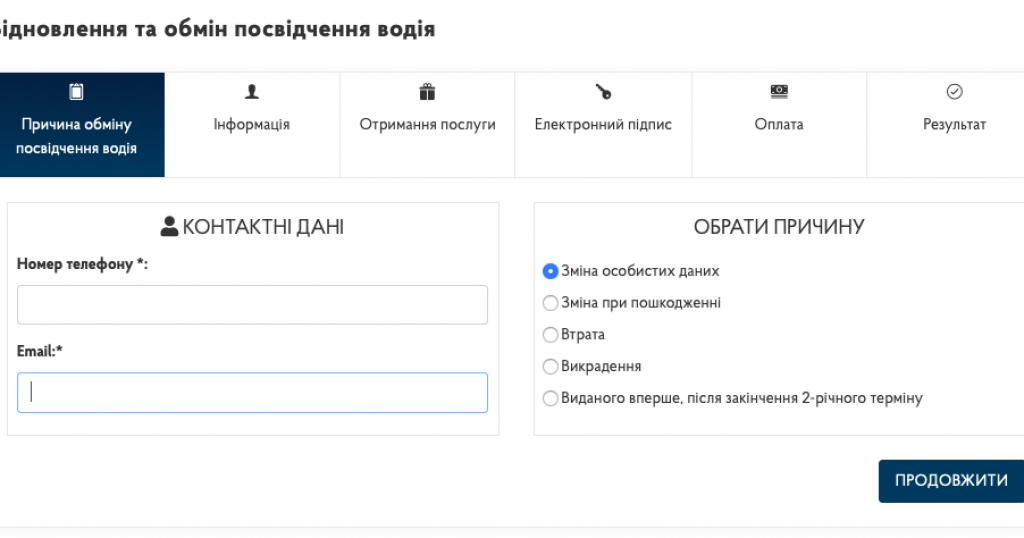 Восстановление и замена прав онлайн: новые возможности для водителей Украины. Новости Украины