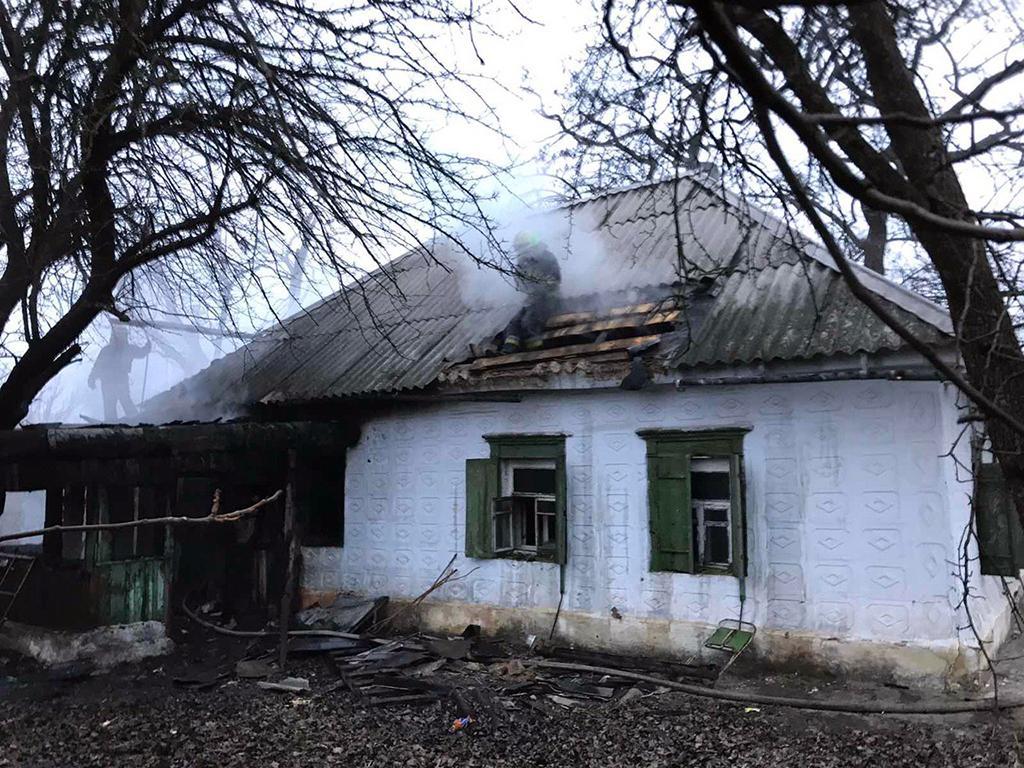 Пожар в Днепре: горел жилой дом. Новости Днепра