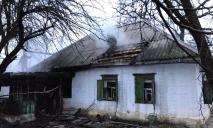 Пожар в Днепре: горел жилой дом