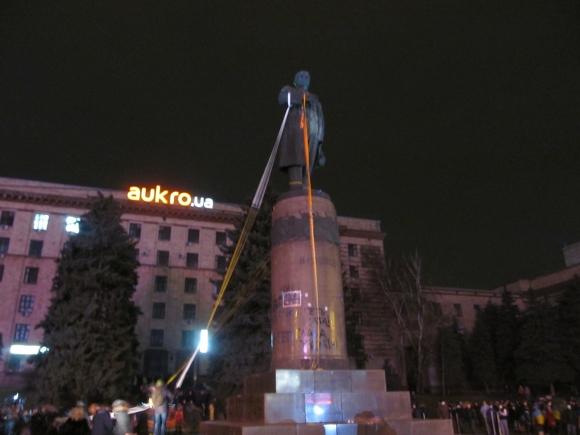 Шестая годовщина «Ленинопада» в Днепре: как это было. Новости Днепра