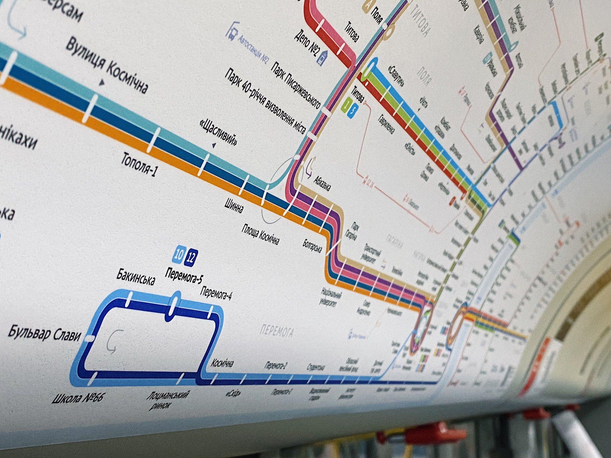В Днепре разработали новую схему движения троллейбусов. Новости Днепра