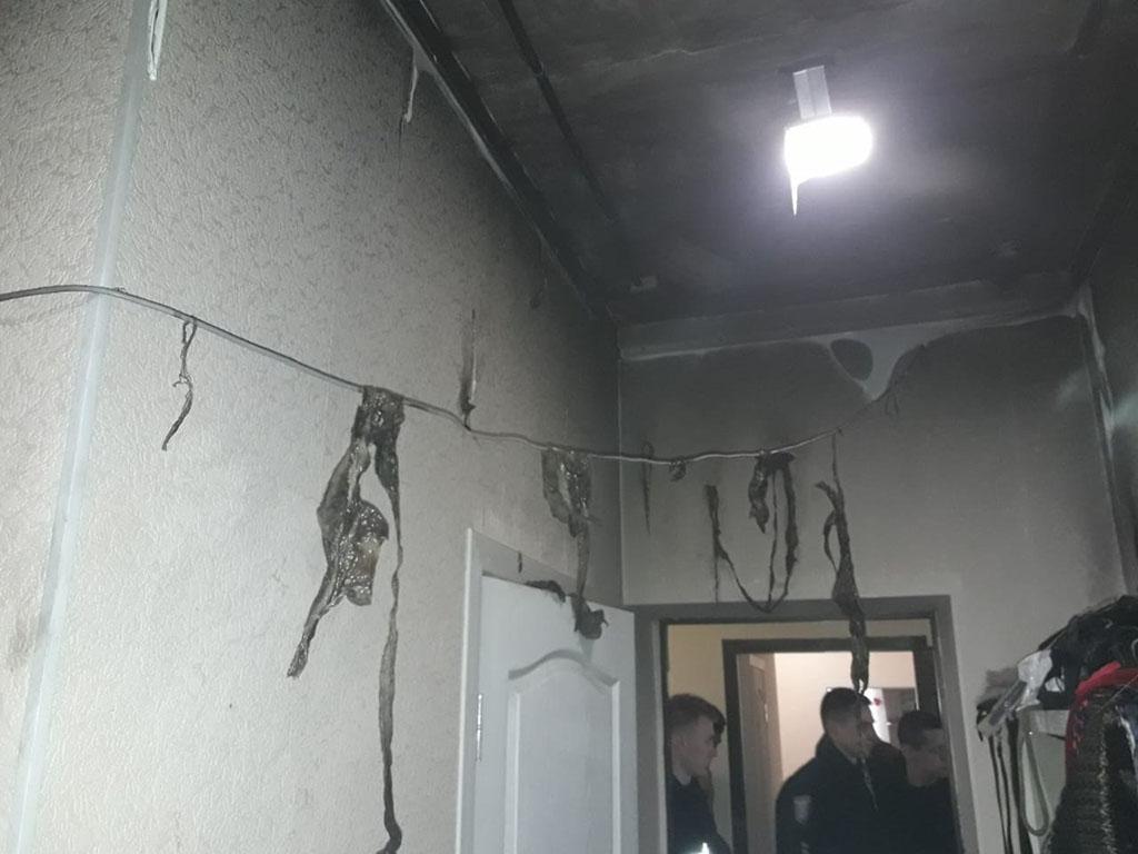 В Днепре дети устроили пожар в квартире. Новости Днепра