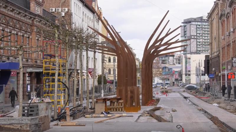 Реконструкция улицы Короленко в Днепре: что ждет горожан. Новости Днепра