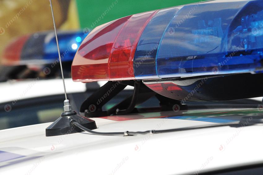 В Днепре полиция перекрыла движение транспорта. Новости Днепра