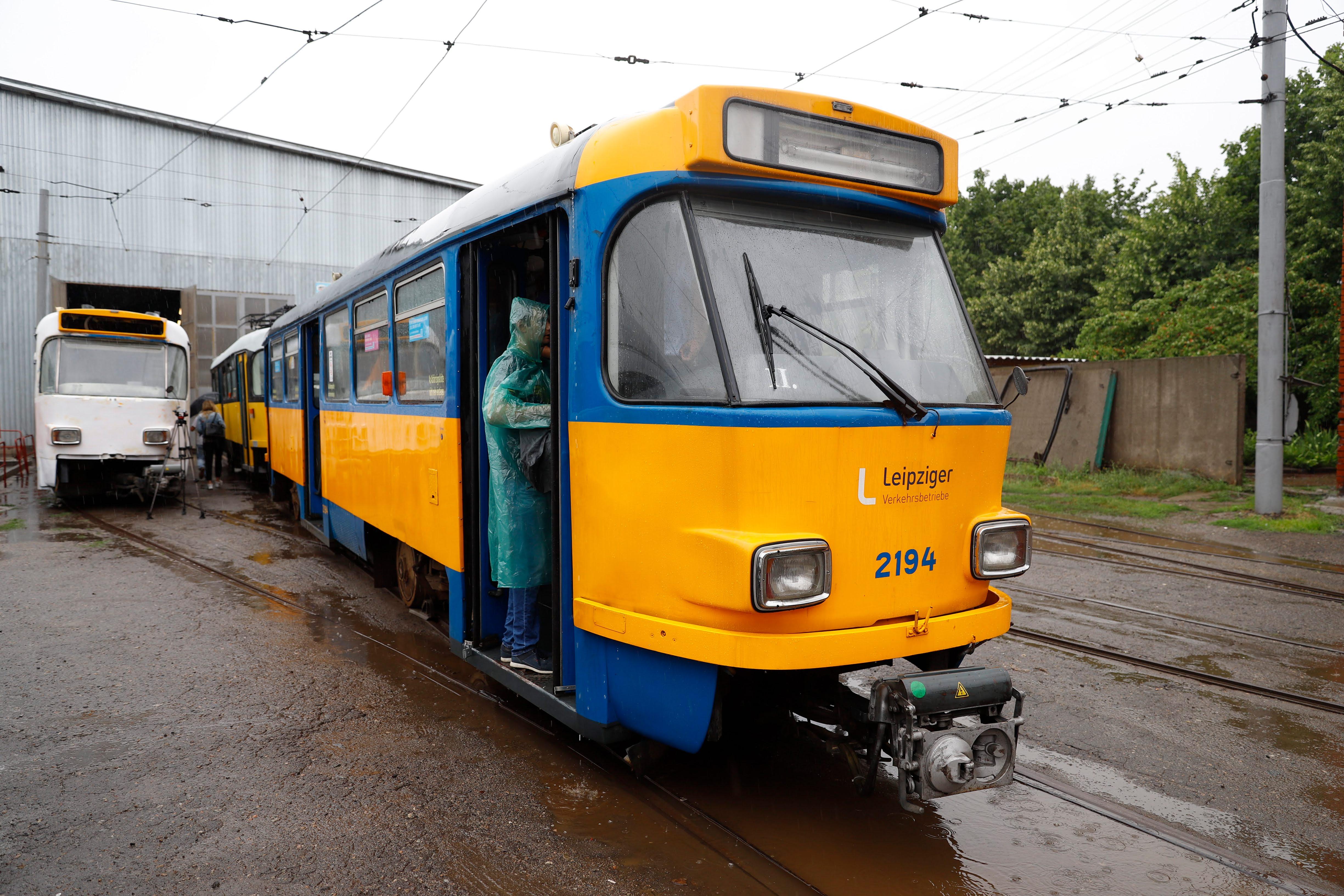 Днепре закупит еще б/у трамваи из Германии. Новости Днепра