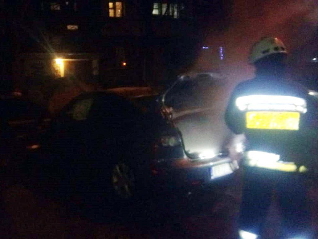 Пожар в Днепре: на одном из проспектов горело авто. Новости Днепра