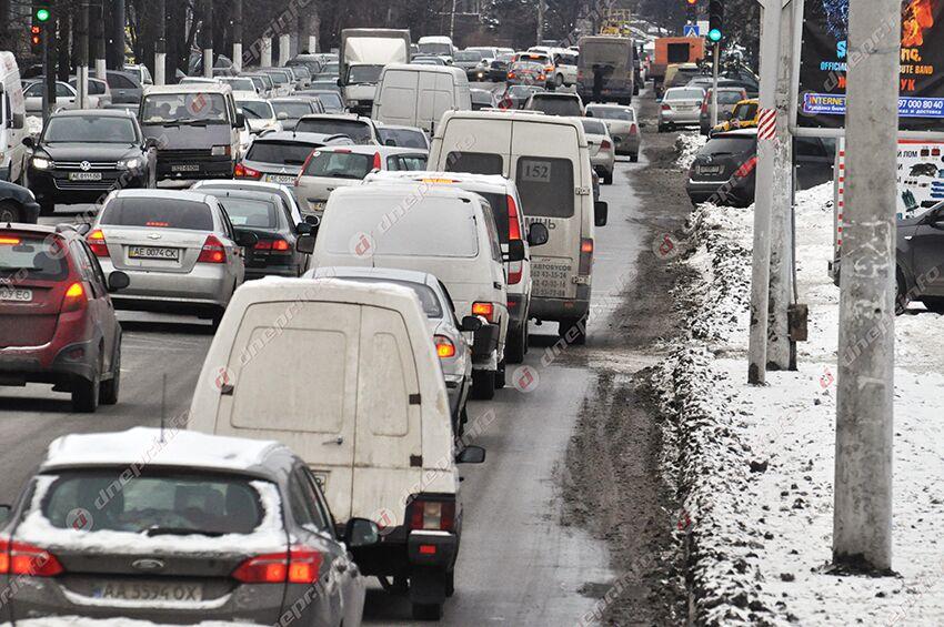 Водителей Днепра и области призвали воздержаться от поездок. Новости Днепра