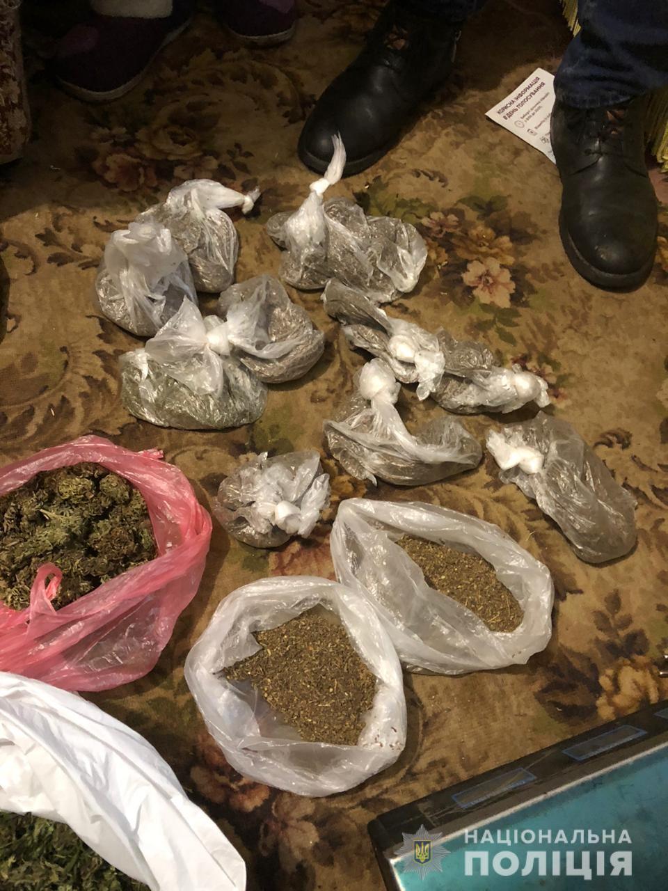 Наркотики на 1 миллион гривен: задержана наркогруппировка. Новости Днепра