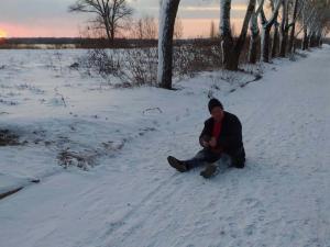 В Днепре спасли мужчину от смерти на морозе. Новости Днепра