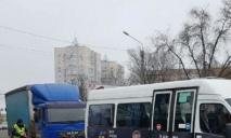 ДТП в Днепре: грузовик влетел в маршрутку с пассажирами
