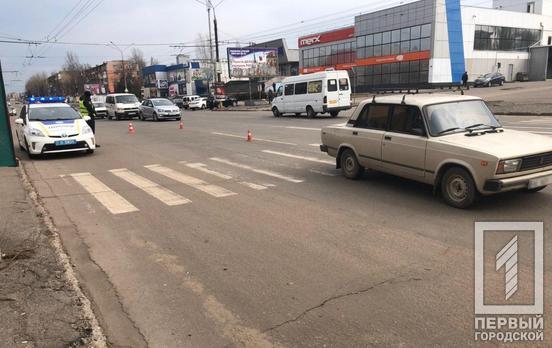 В ДТП пострадала женщина. Новости Днепра