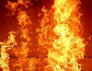 Сгорел микроавтобус. Новости Днепра