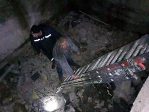 Мужчина провалился в подвал. Новости Днепра