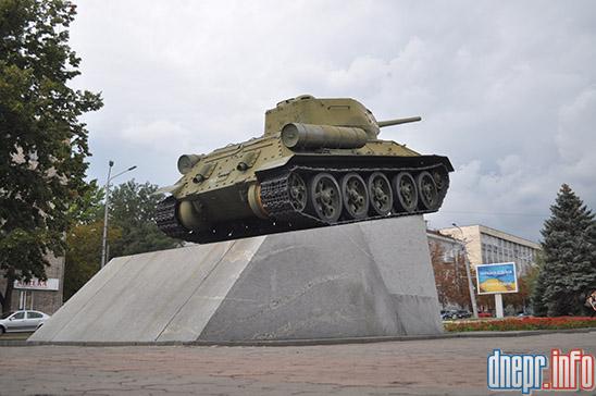Перенос легендарного танка в Днепре: горожане выступили против. Новости Днепра