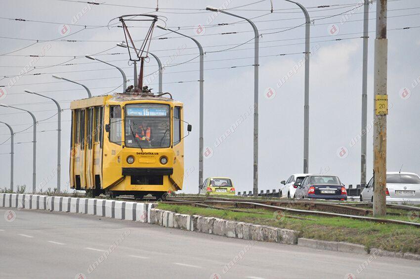 Электротранспорт Днепра временно изменил маршрут: график. Новости Днепра