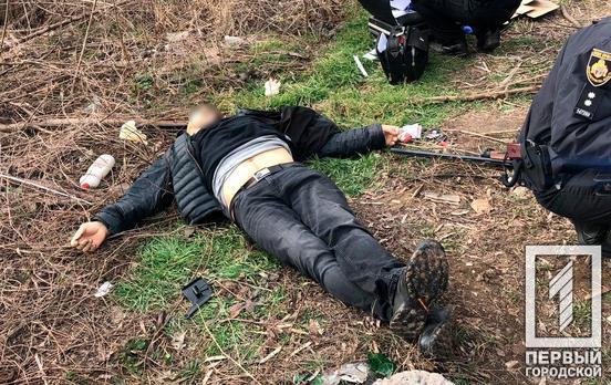 Найден труп мужчины с простреленной головой. Новости Днепра