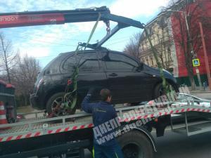 Новости Днепра про В Днепре штрафуют водителей за парковку с нарушениями