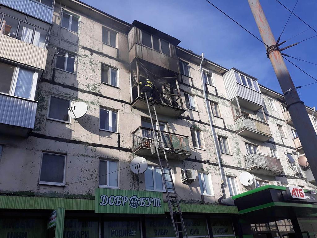 Пожар в Днепре: горел многоэтажный дом. Новости Днепра