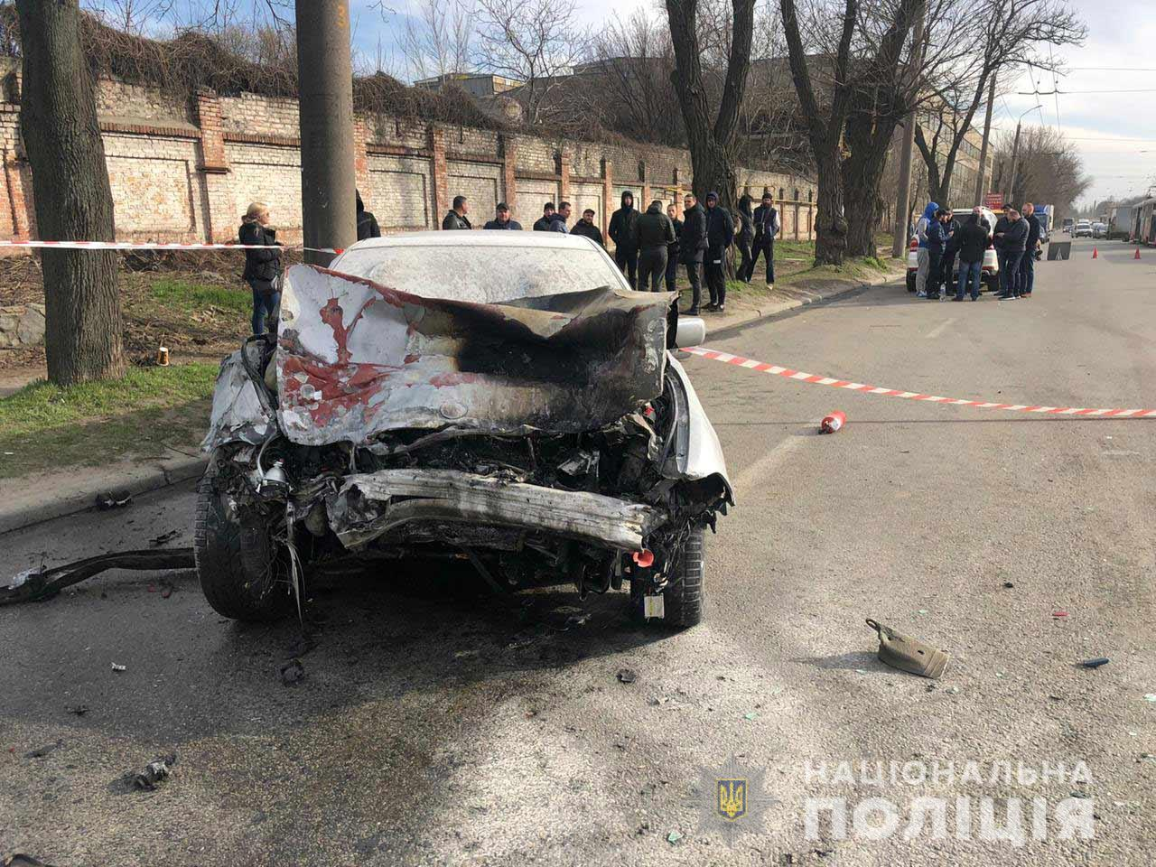 Серьезное ДТП на проспекте Богдана Хмельницкого в Днепре: 5 пострадавших. Новости Днепра