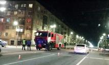 На Днепропетровщине столкнулись иномарка и машина спасателей
