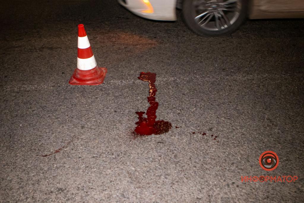 В Днепре сбили мужчину: пострадавший в тяжелом состоянии. Новости Днепра