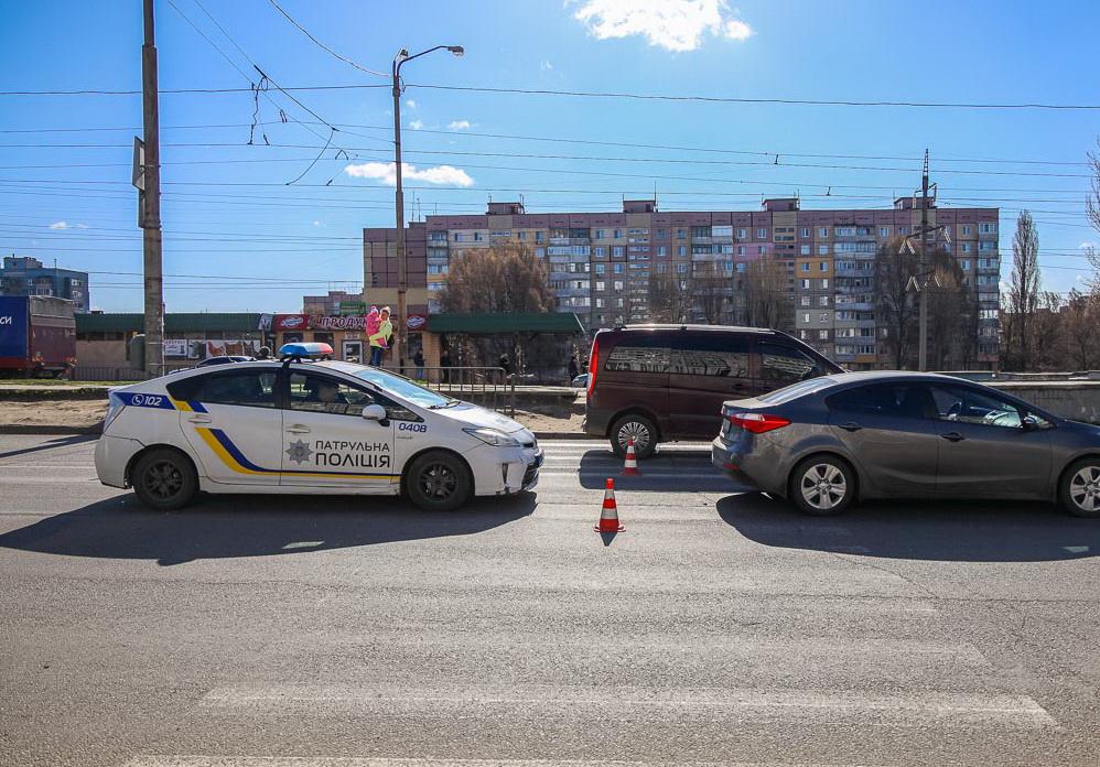 В Днепре на пешеходном переходе сбили девушку. Новости Днепра