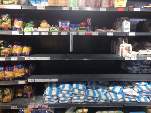 Новости Днепра про Коронавирусная паника в Днепре: ситуация в магазинах
