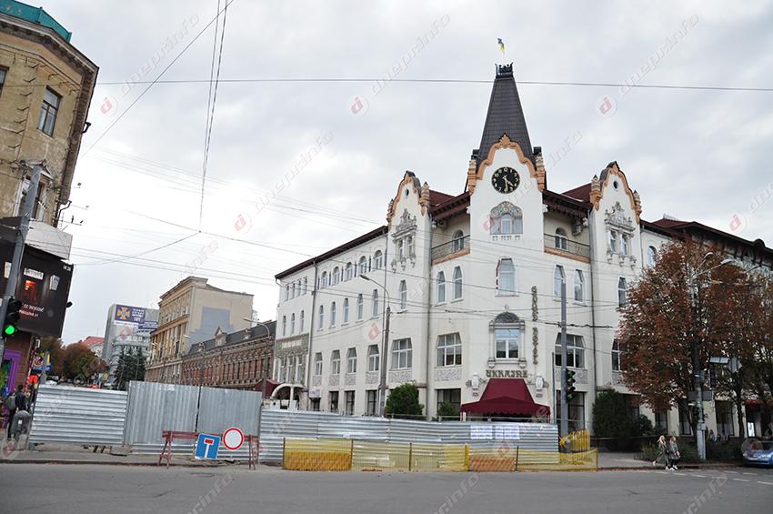 В Днепре реконструируют улицу Короленко: на каком этапе работы. Новости Днепра