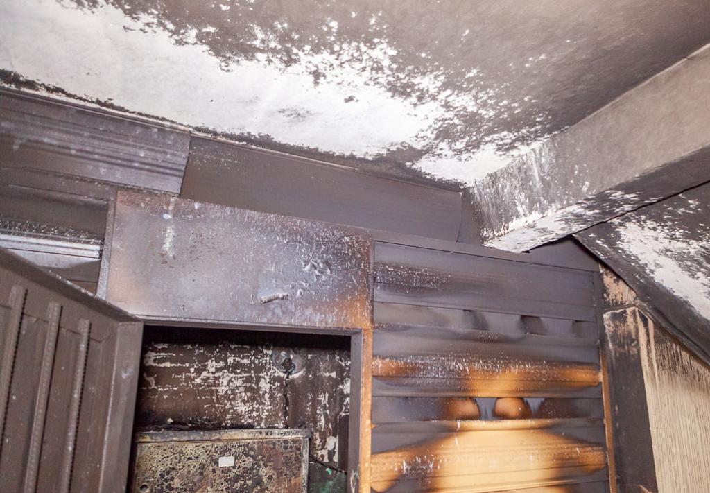 Пожар в многоэтажке Днепра: есть пострадавшая. Новости Днепра