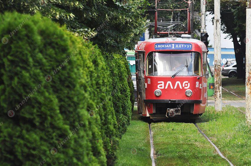 Сегодня в Днепре трамваи изменят свое движение. Новости Днепра
