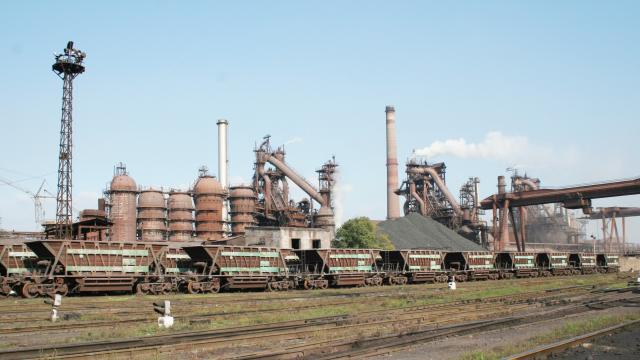 Днепровский металлургический завод получил 45 га земли на Набережной. Новости Днепра