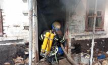 На Днепропетровщине спасатели тушили масштабный пожар в доме