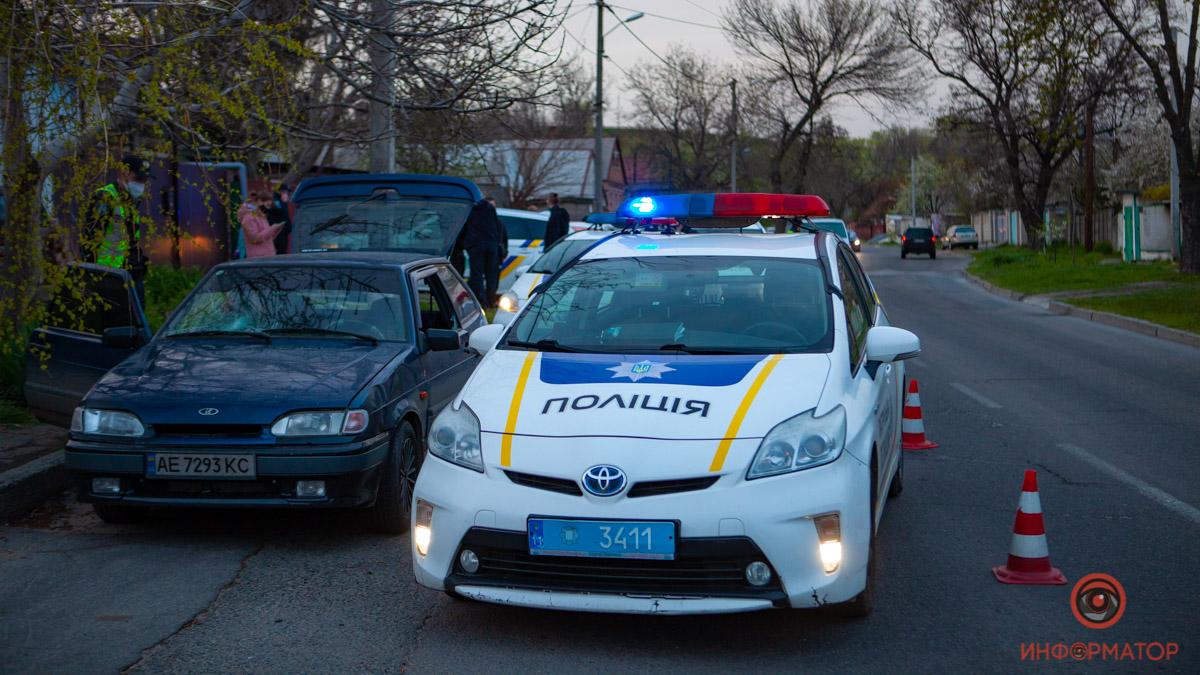 В Днепре мужчину сбили и увезли: полиция преследовала авто. Новости Днепра
