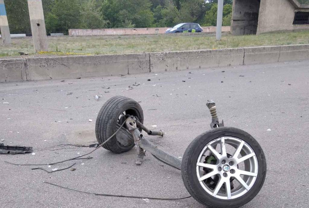 ДТП на мосту под Днепром. Новости Днепра