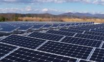 Под Днепром запустили солнечную электростанцию