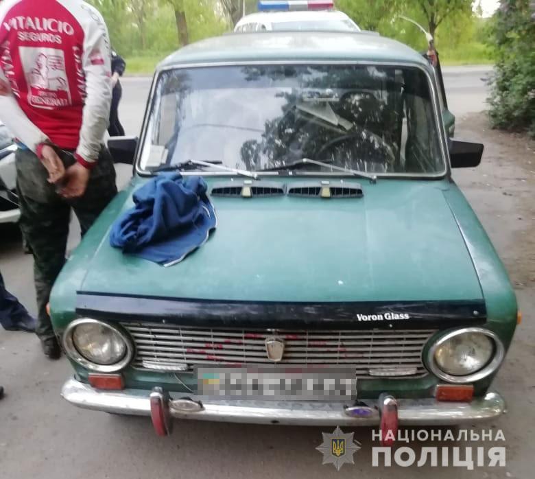 На Днепропетровщине полиция устроила погонб за угонщиками авто. Новости Днепра